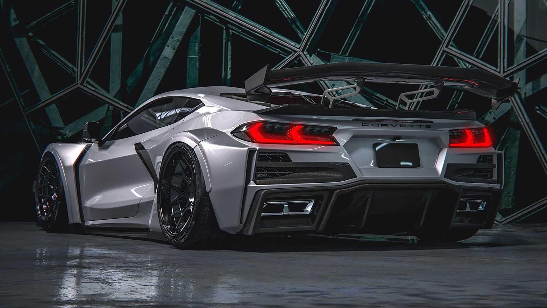2020 Chevy Corvette Widebody Renderings By Hugosilva Designs Super Cars Corvette Chevy Corvette