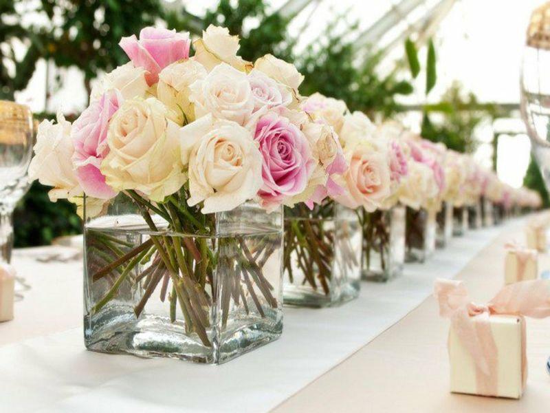 50 Beispiele Fur Tischdekorationen Mit Vasen Und Schalen