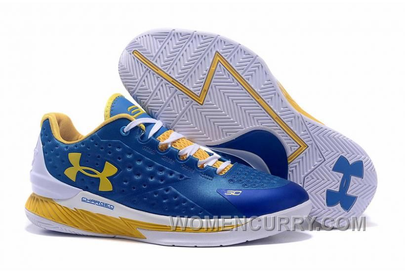 5c9d94499752 Buy Womens Under Armour Curry One Low Royal Blue Yellow White Online from  Reliable Womens Under Armour Curry One Low Royal Blue Yellow White Online  ...