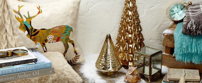 #indigo #magical holiday The classics with a modern touch
