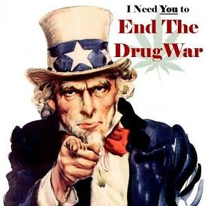 "A NEW PRESCRIPTION FOR THE WAR ON DRUGS. The choice we face is clear. We continue the body count, we continue to fill the jails, with drug offenders, and we periodically arrest the local or international ""drug kingpin"" who is quickly replaced and market continues onward. Or, we take significant steps to cut off the revenue to the cartels, depriving them of the engine that fuels the violence."