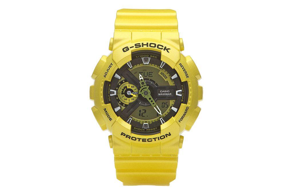 Casio G-Shock GA-110NM-9ADR với màu vàng nổi bật
