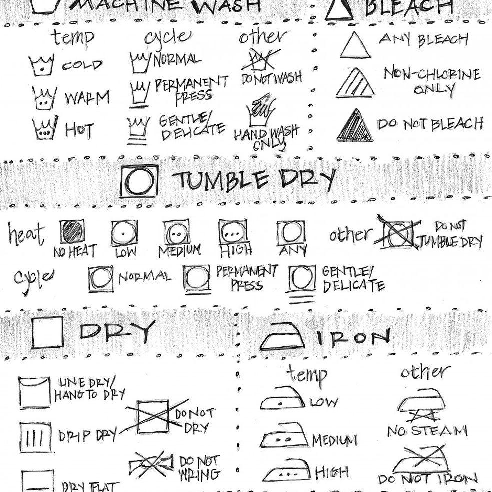 Laundry Symbol Cheat Sheet Laundry Symbols Life Hacks Laundry