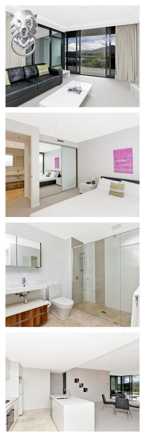 These Canberra serviced apartments are in the city centre ...