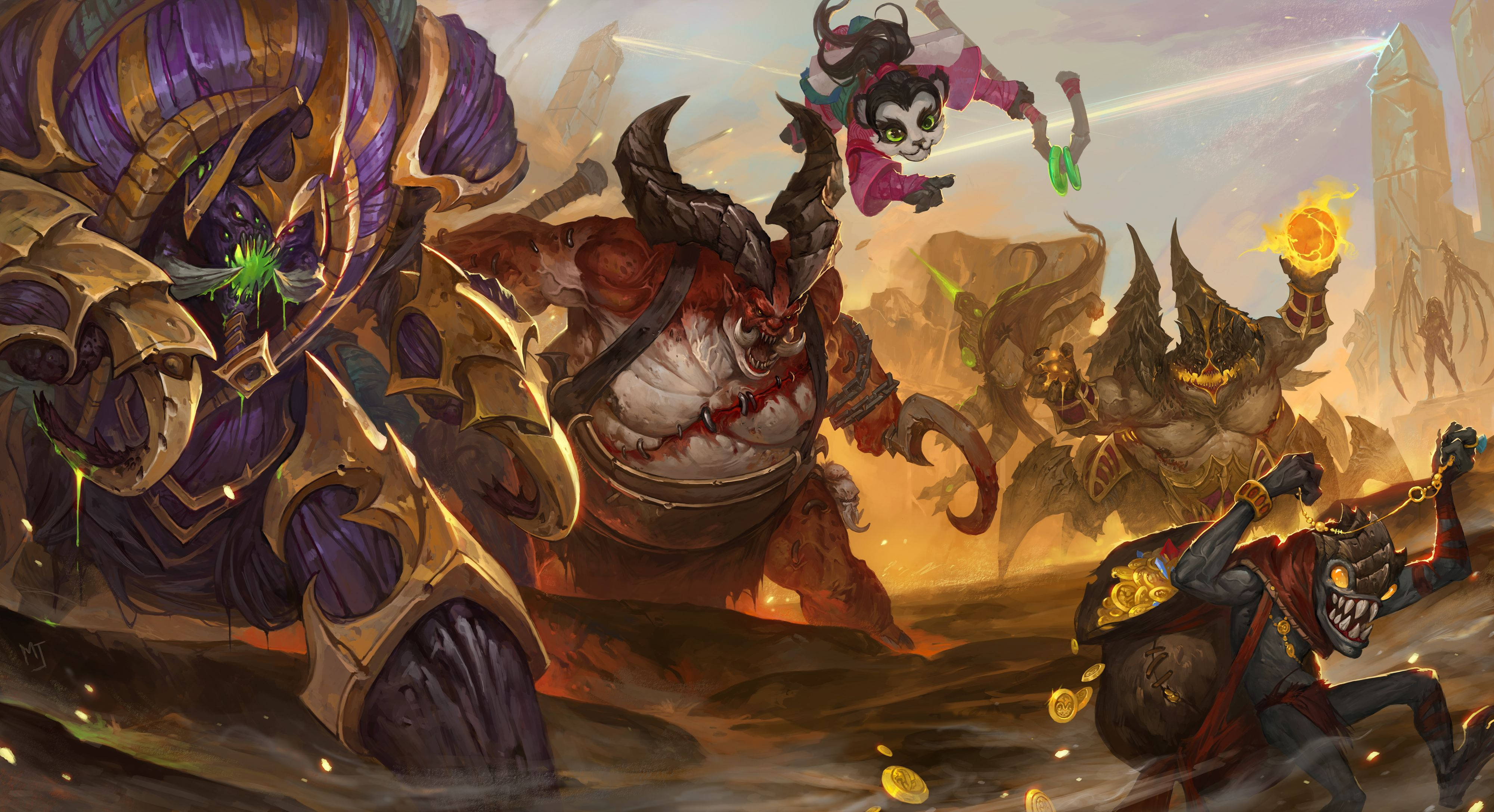 Catch The Goblin Heroes Of The Storm By Alswns3421 Deviantart