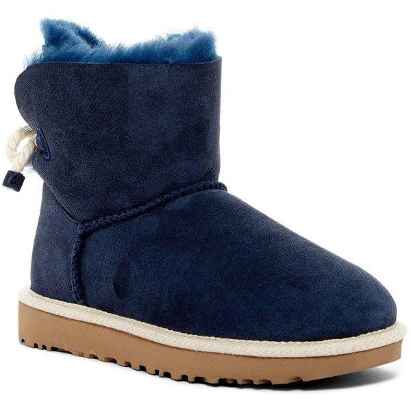 bf3dccb4d5d UGG Australia Selene Genuine Lamb Fur Lined Boot ($100) ❤ liked on ...