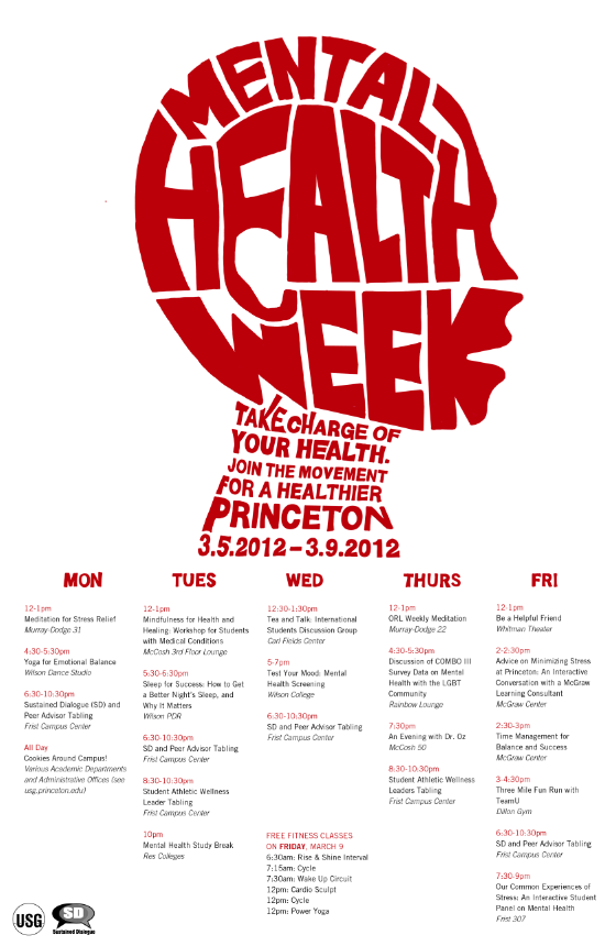 Cool Idea For Mental Health Week Poster Counseling Ucc