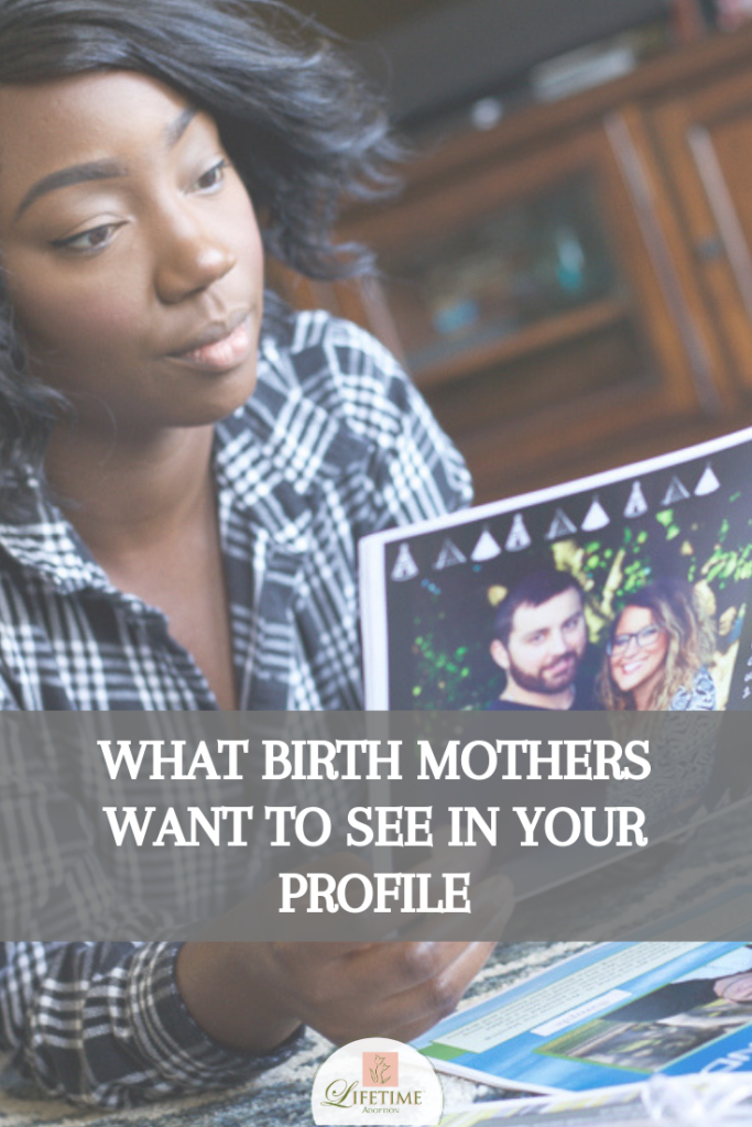 Many hopeful adoptive parents wonder what birth mothers are looking for in an adoption profile. They want to increase their profile views so that a birth mother chooses them. However, what to include in your adoption profile isn't an exact science. That's because every birth mother is different, and so there's no single answer to what every woman wants to see. #adoptionprofile #adoption #hopingtoadopt #adoptiontips