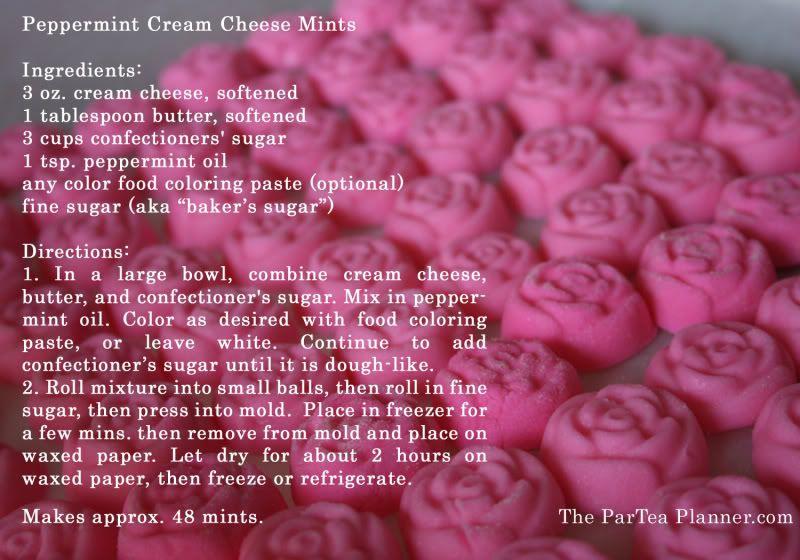 Cream Cheese Mints Recipe | so cute food | Pinterest | Cream ...
