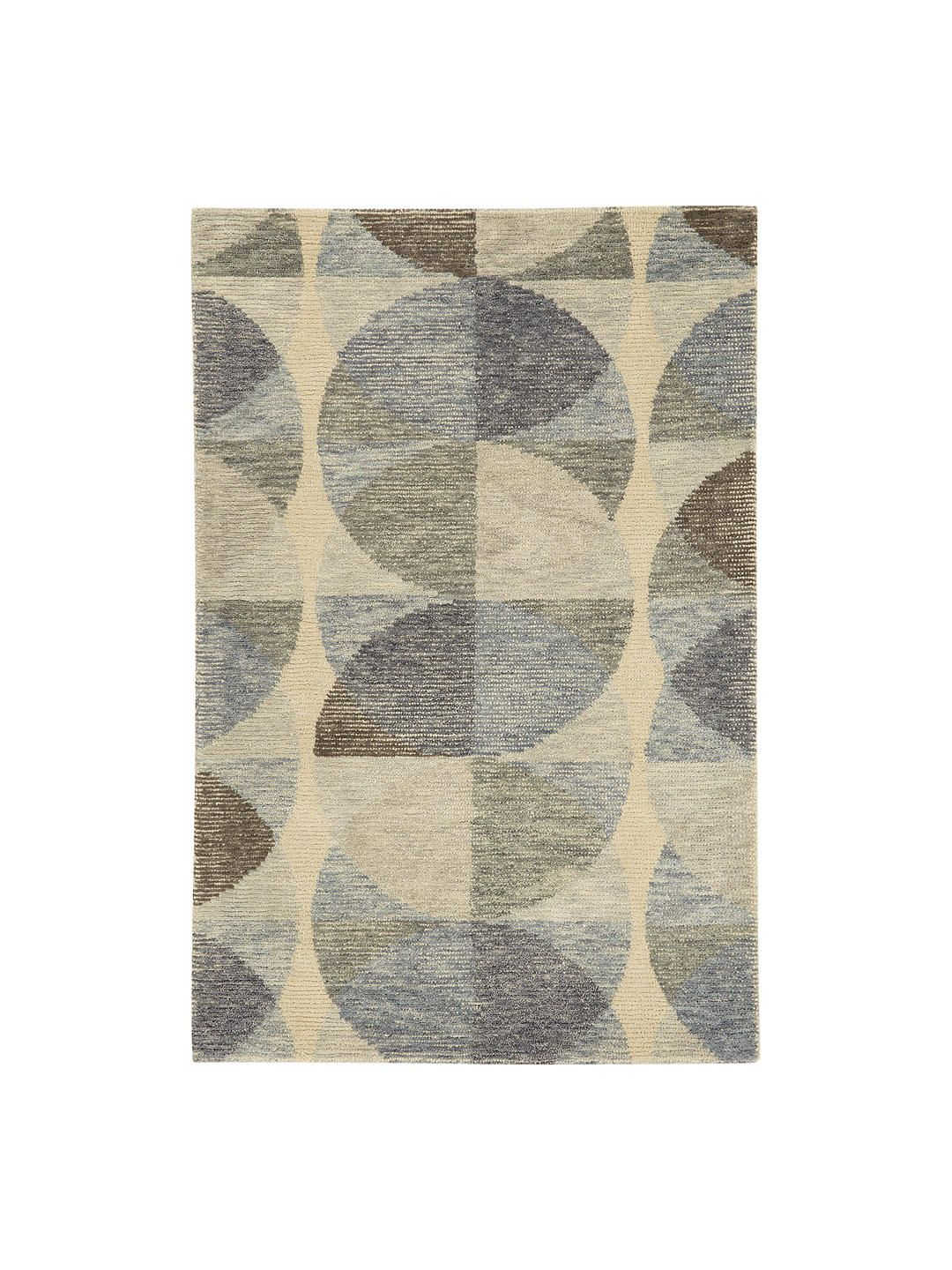John Lewis Partners Ayla Rug Grey In