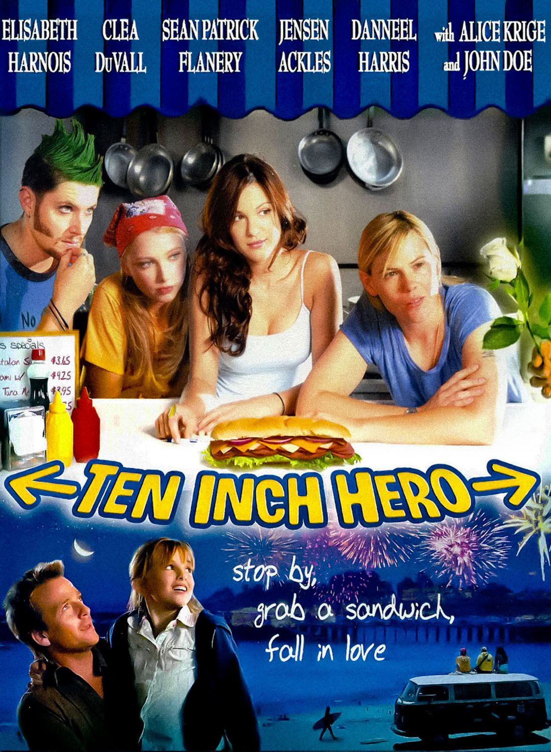 Ten Inch Hero Deutsch