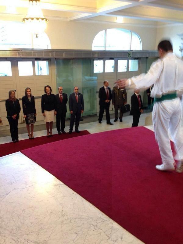 La Reina Letizia de visita en Donostia