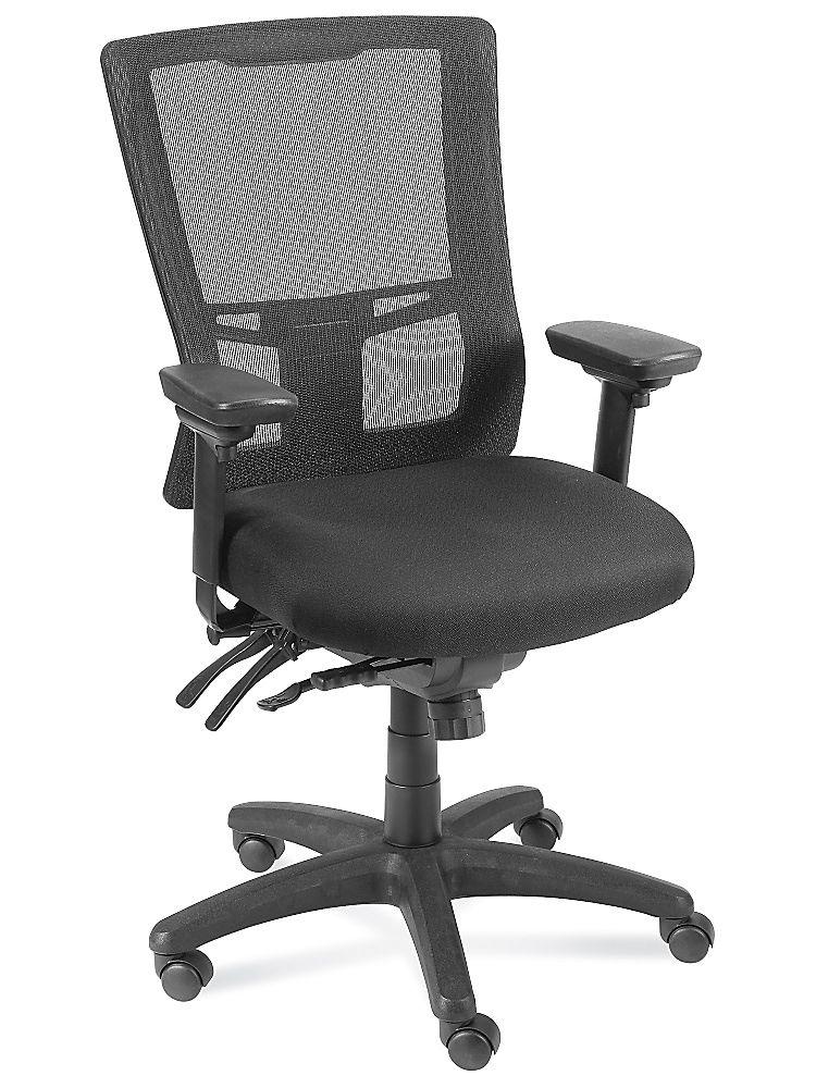 Ergonomic Mesh Office Chair in Stock ULINE Mesh office