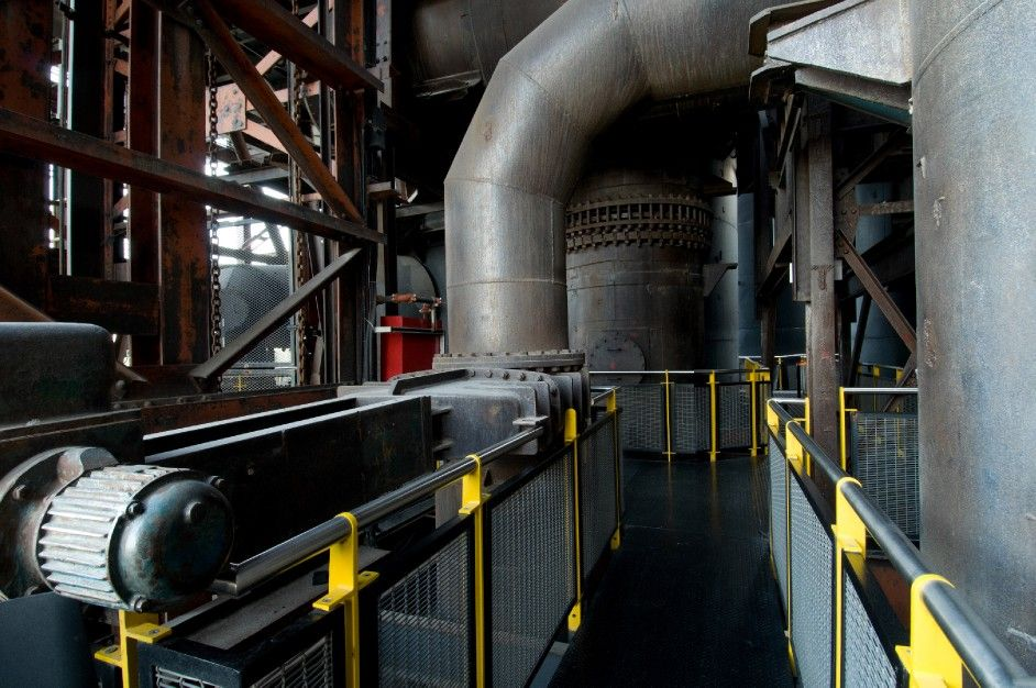 Horno 3, Monterrey Mexico decommissioned steel mill industrial complex turned restaurant & museum.