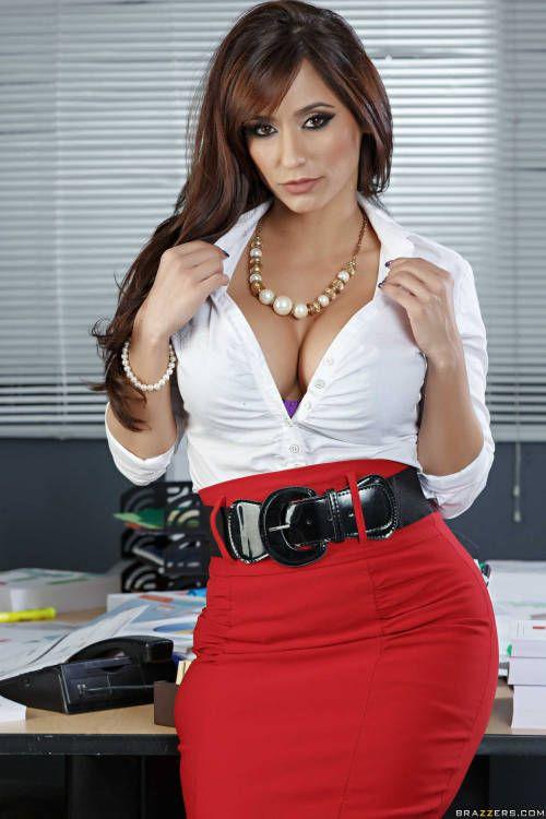 Slutty office wear