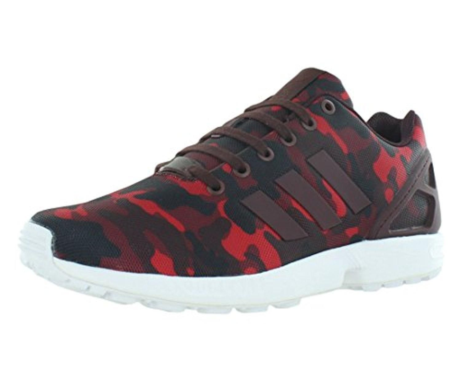 womens adidas white zx flux embossed floral trainers nz
