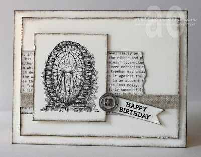 Stampin' Up! Birthday  by Allison Ohran at Sweet Impressions: Sentimental Birthday