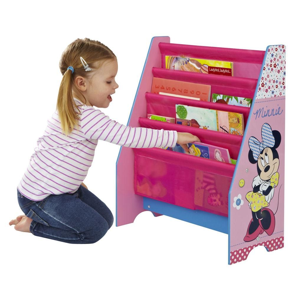 Minnie Mouse Sling Bookcase Bedroom Furniture New