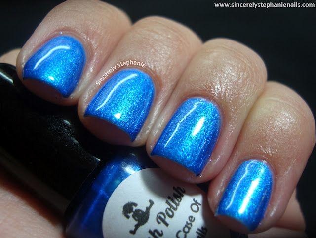 Dollish Polish A Bad Case Of Blueballs