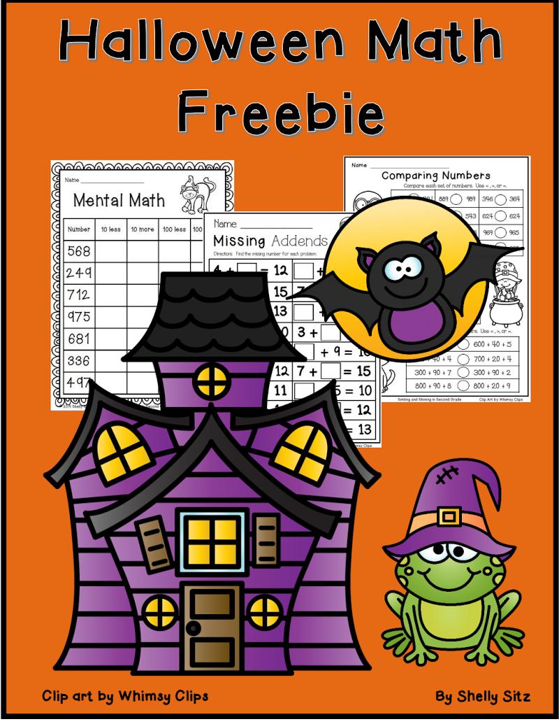 Halloween math freebie.pdf Halloween math, Halloween