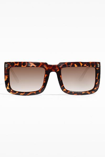 0a7a48ad6d2 Levi 2  Metal Accent Flat Top Sunglasses - Tortoise - 5376-4