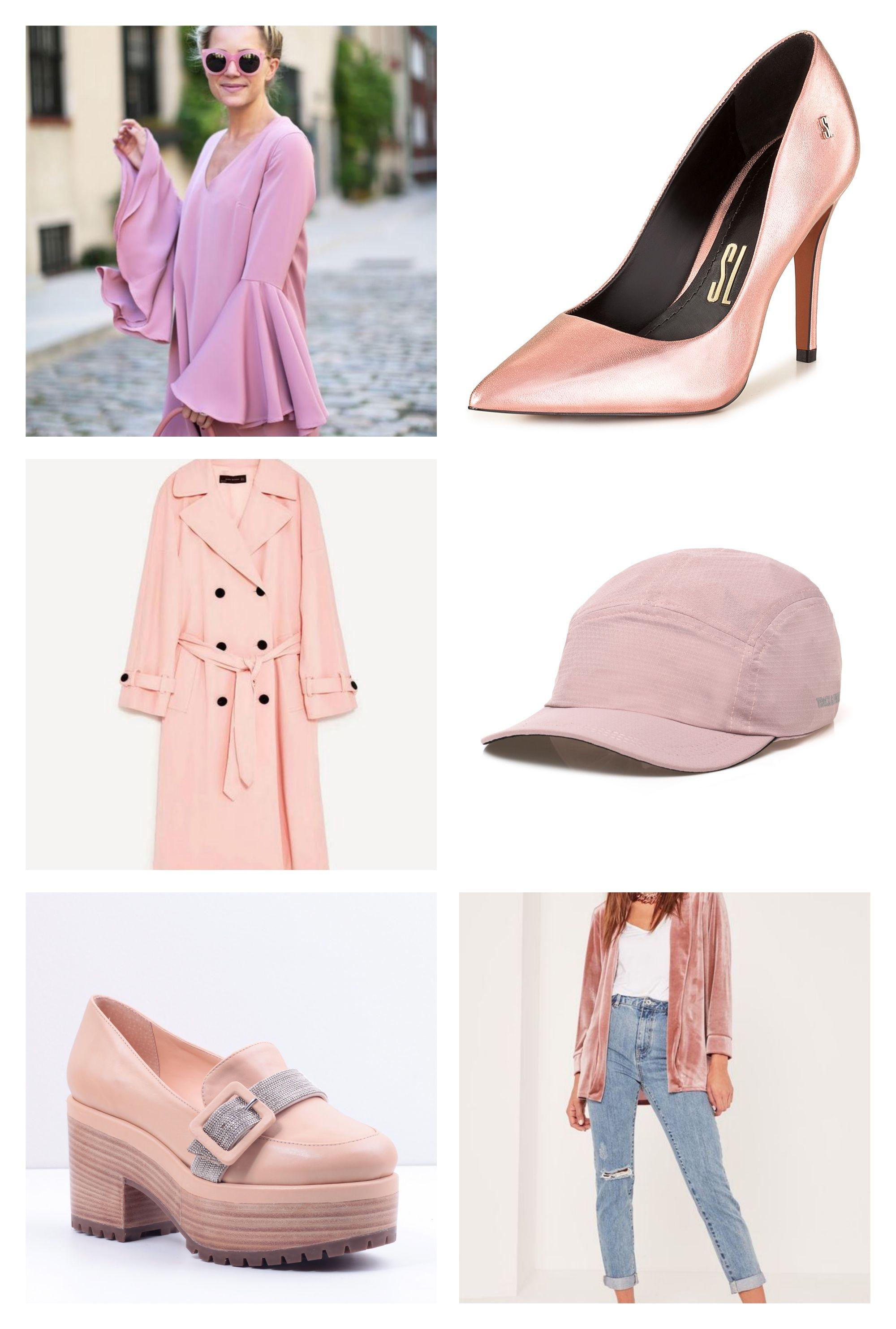 Onde encontrar roupas e acessórios com a cor fashion do momento: Millennial Pink!