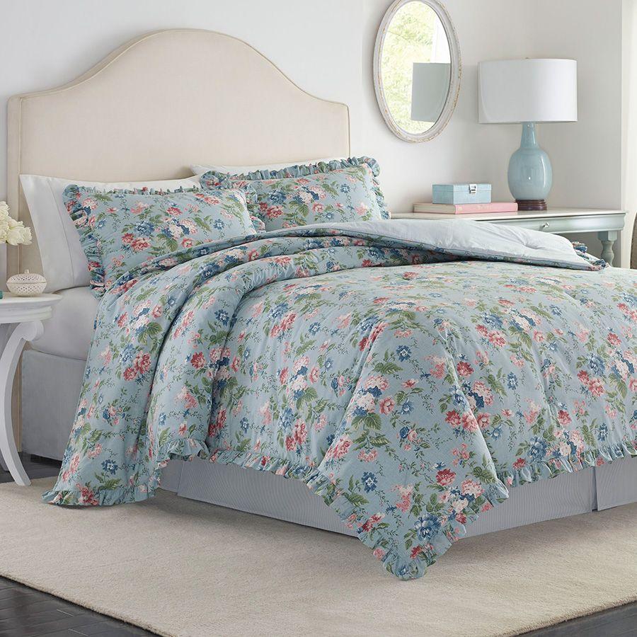 Comforter Sets Queen Ashley: Laura Ashley Olivia Comforter Set