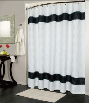 A Standard Shower Curtain Size Guide Fabric Shower Curtains