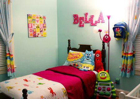 Yo Gabba Gabba Bedroom Gabba Friends New House Bedroom Custom Yo Gabba Gabba Bedroom Decor