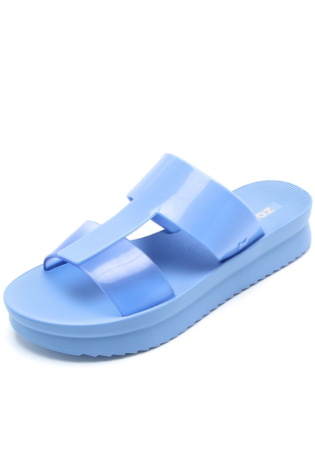 7c88d3ee8 Rasteira Zaxy Tiras Azul em 2019 | Products | Shoes, Casual e Sandals