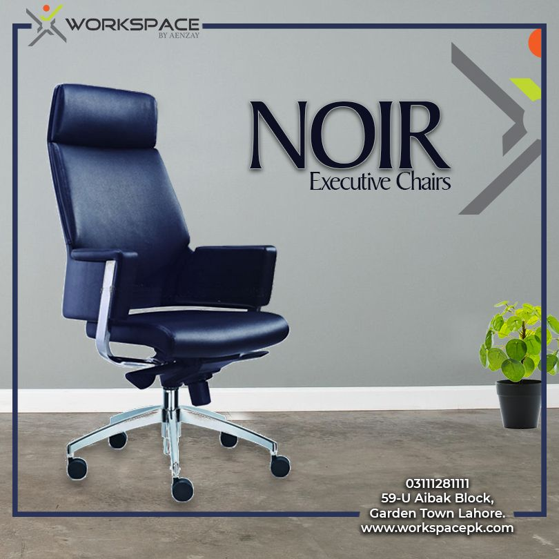 Noir Executive Chairs By Workspace Best Office Furniture In