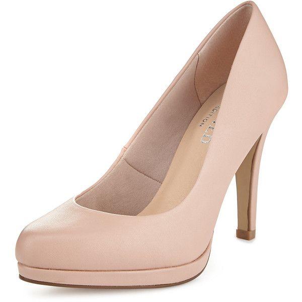 Platform Court Shoes with Insolia M\u0026S