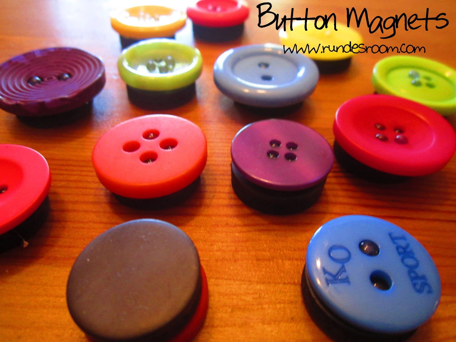 Diy Button Magnets Diy Classroom Diy Magnets Button Magnets