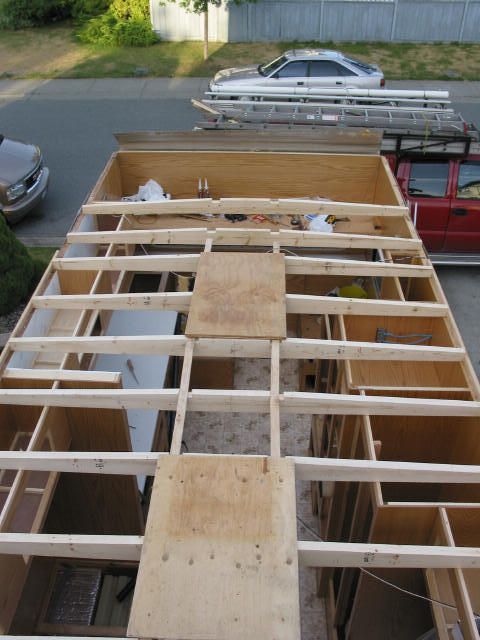 Repair trailer roof rv pinterest rv rv life and rv for How much do roof trusses cost