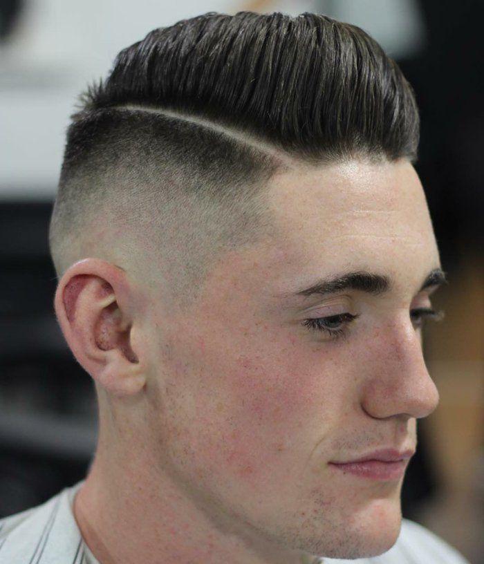 Coupe de cheveux pour homme moderne