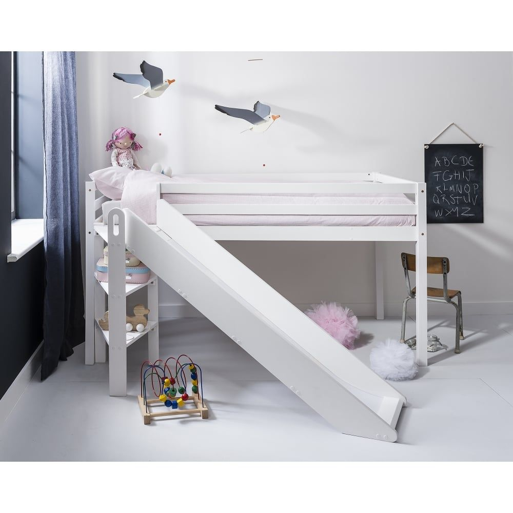 Johan Midsleeper Cabin Bed With Space Saving Slide Cabin Bed