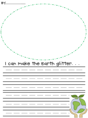 Earth Day writing Activity - Re-pinned by @PediaStaff – Please Visit http://ht.ly/63sNt for all our pediatric therapy pins