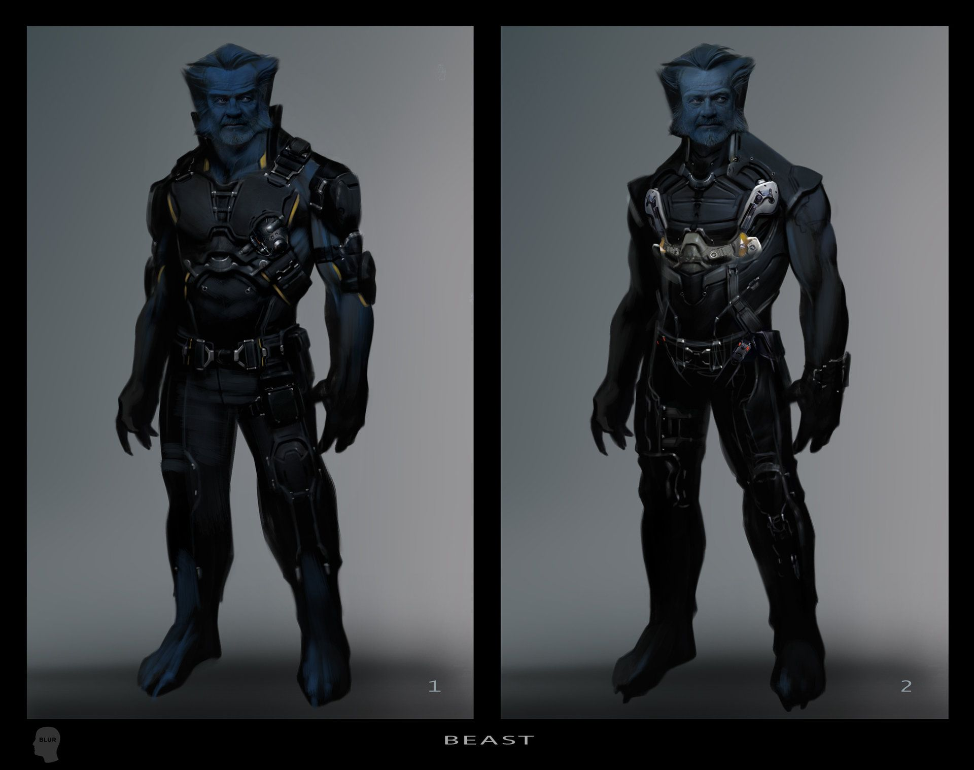 X Men Days Of Future Past Gambit Rogue Marvel Concept A...