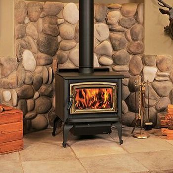 The Super 27 Pacific Energy Efficient Wood Stove Is Easy To Use And Is Incredibly Reliable The Pacific Energy Sup Wood Stove Wood Heater Wood Stove Surround