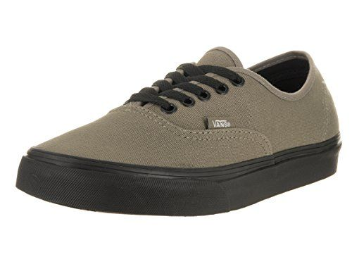 577de7e324fdb3 Vans Unisex Authentic (Black Sole) Brindle Skate Shoe 7 Men US   8.5 Women