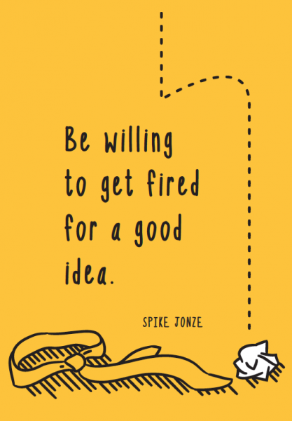 Illustrated quote from Treat Ideas Like Cats, out now from HOW Books and Adams Media. #quotes #designquotes #creativity