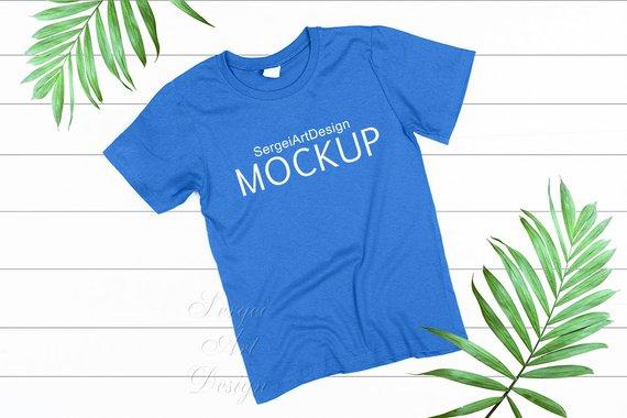 Download T Shirt Mockup Mockup T Shirt Blue Mockup Template Woman Etsy In 2021 Shirt Mockup Tshirt Mockup Blue Shirt