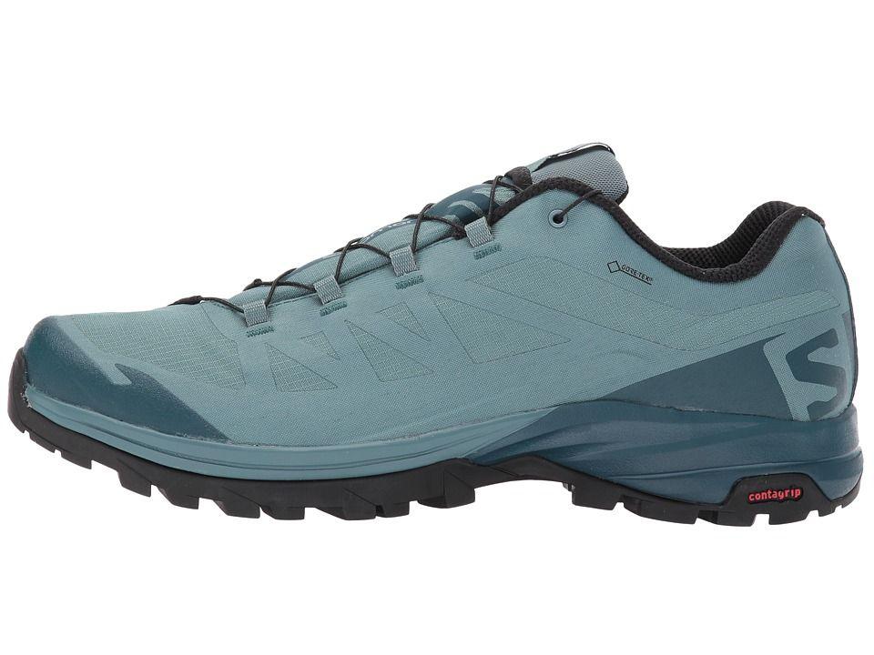 a71e931a601b5 Salomon Outpath GTX(r) Men s Shoes North Atlantic Reflecting Pond Black