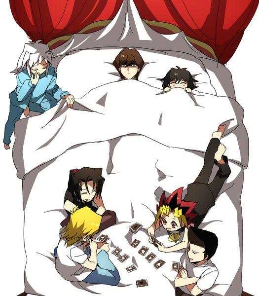 Seto And Mokuba Kaiba Ryou Bakura Duke Devlin Joey Wheeler Tristan Taylor Yugi Moto Seto Anime Anime Funny