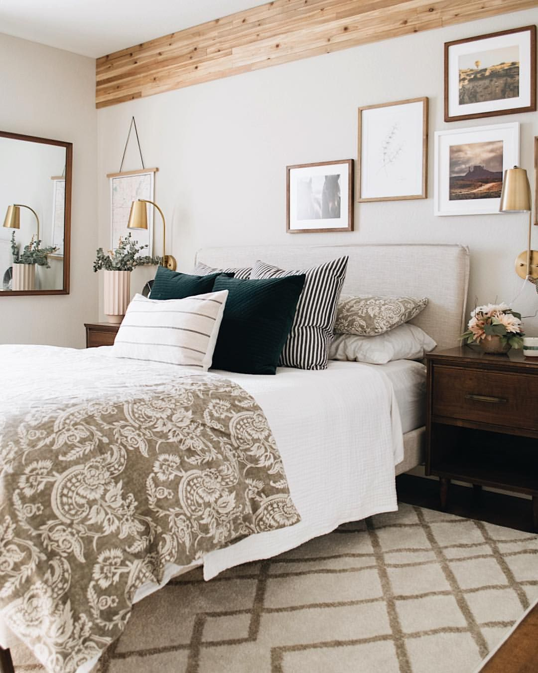 Nest Out West On Instagram Earthy Mid Century Modern Guest