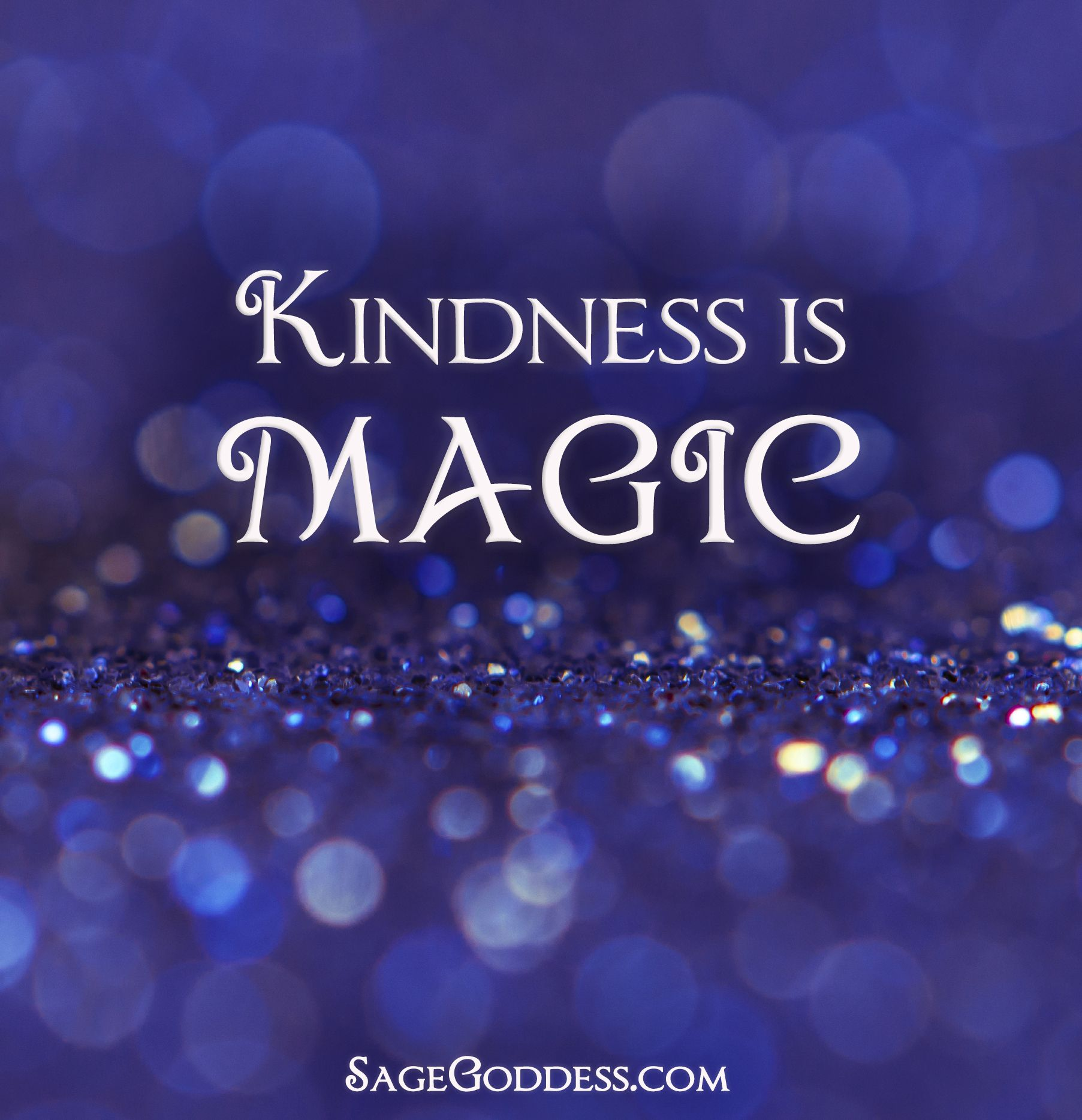 Kindness is magic. Always. #LifeQuotes | Kindness quotes