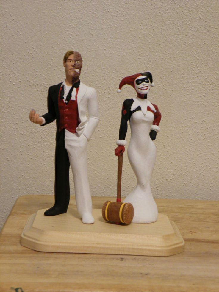 Joker And Harley Quinn Wedding Cake Toppers 5000 Simple Wedding Cakes