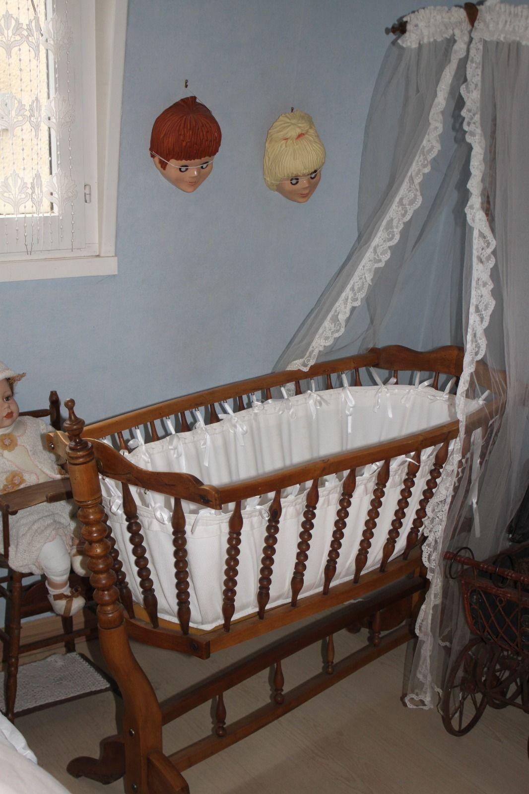 berceau ancien xix e dit bercelonnette ebay ber eaux col de cygne pinterest berceau. Black Bedroom Furniture Sets. Home Design Ideas