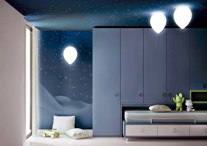 Il di architettura e design di studioad lampade per bambini