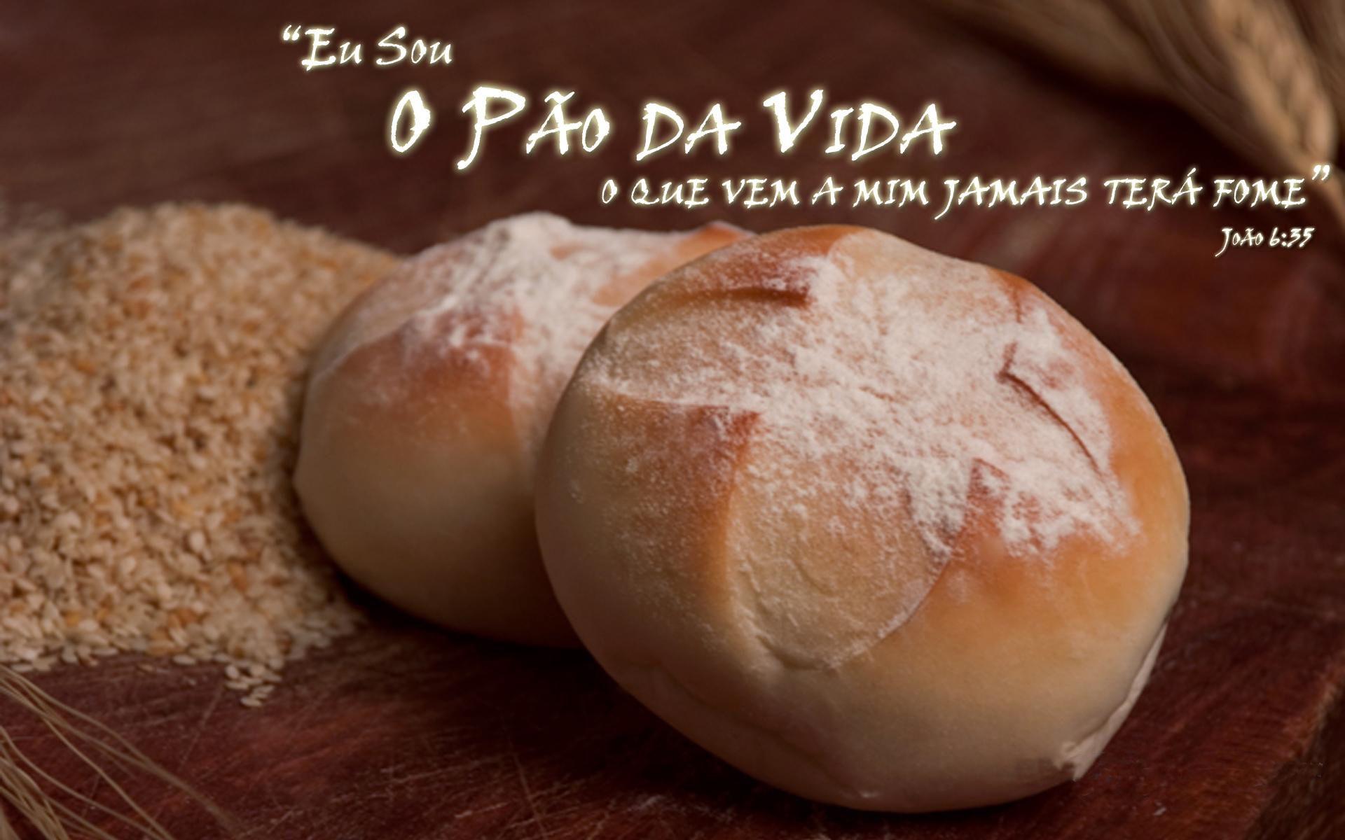 ''Eu sou o Pão da vida.'' -João 6:48